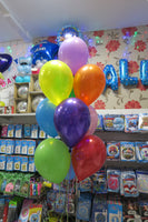 Birthday  Bubble and 9 helium  Bouquet