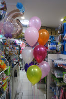 Minnie Orbz Foil  and 9 Helium balloon Bouquet