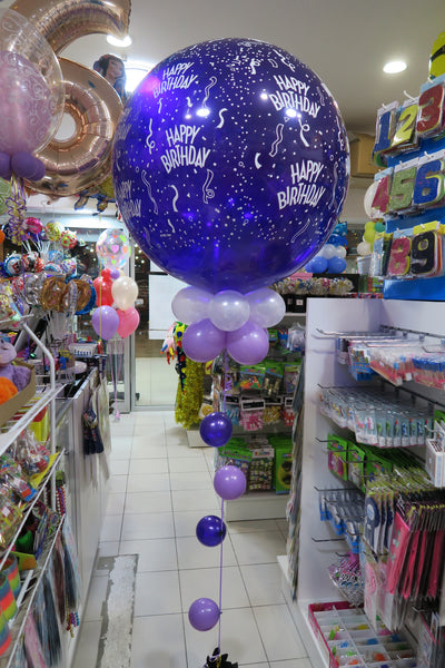 3Ft round giant happy birthday  ballon