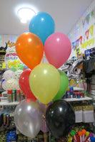 Thomas Foil and 9 Helium balloon Bouquet