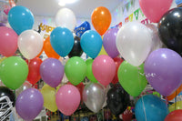 150 ceiling balloons