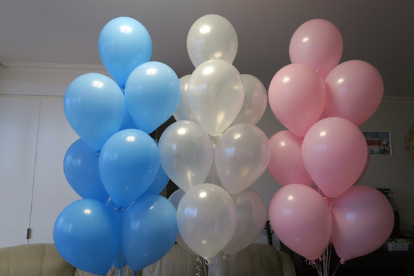 30 balloons bouquet