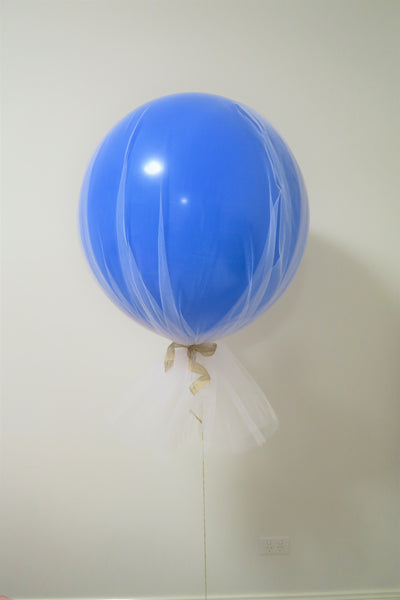 Tulle 3Ft round giant balloon