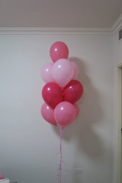4 x 10 Balloon bouquet floor arrangement