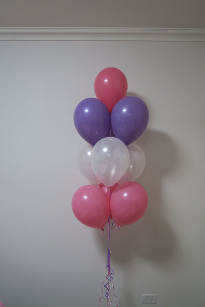 10 Balloon bouquet floor arrangement
