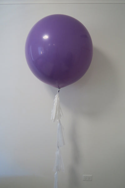 3ft round balloon with tassel arrangement