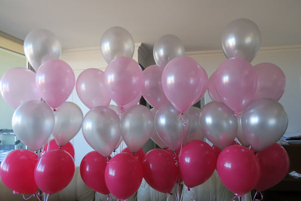 40 helium balloon bouquet