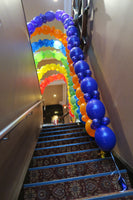 Circus Birthday Party Link Balloon Arch