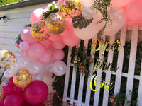 "Organic Balloons Arch "" Piper Turns One """