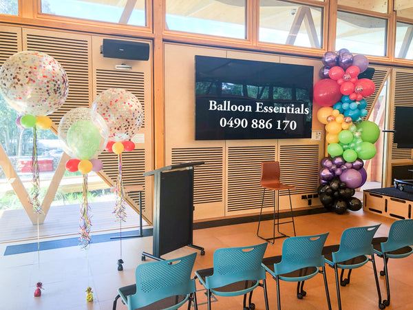 Organic Balloons Garland @ Macquarie Park