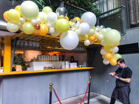 "Organic Balloons Arch "" Grand Opening June's Shoppe """