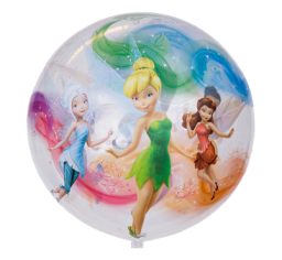 Fairies bubble and 9 helium balloon  bouquet