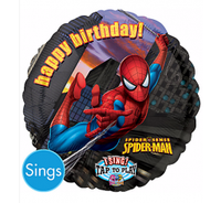 Spiderman Singing Balloon