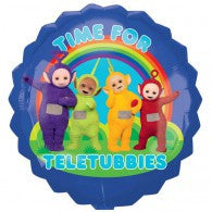Teletubbies foil Shape  and 9 Balloon bouquet