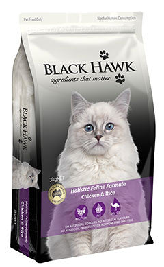 Black Hawk-Feline-(Chicken & Rice)