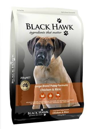 Black Hawk-large Breed Puppy-(Chicken Rice)