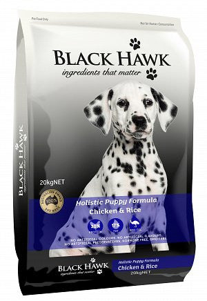 Black Hawk-Puppy-(Chicken and Rice)