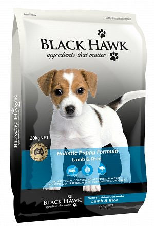 Black Hawk-Puppy-(Lamb and rice)