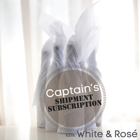Captain's Shipment Subscription All White & Rose