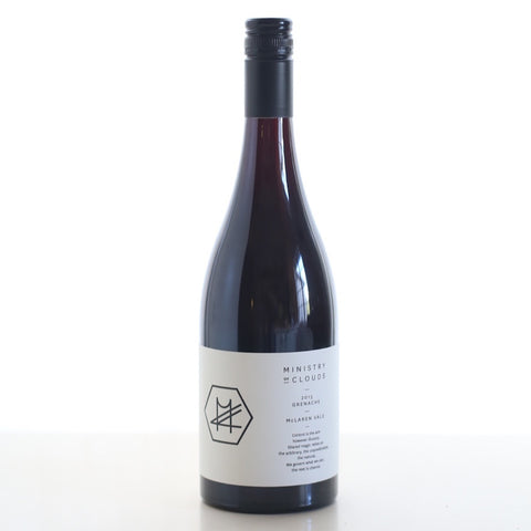 Ministry of Clouds 2015 Grenache