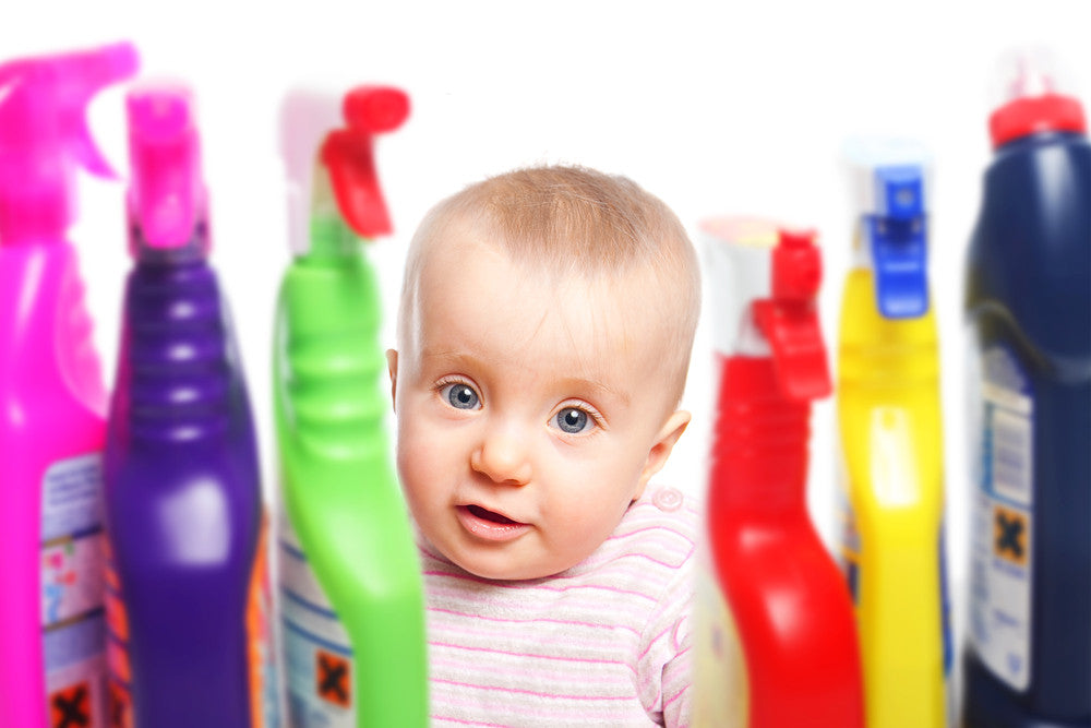 Common household disinfectants linked with birth defects, miscarriages and fertility.