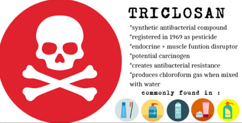 Triclosan and deadly ingredient