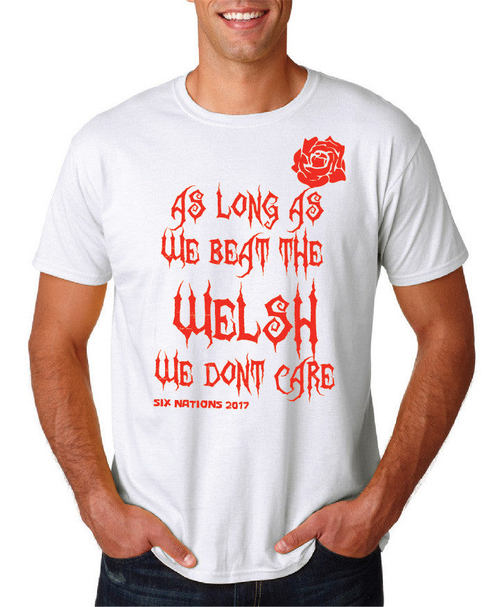 Mens 6 Nations T shirt - For England supporters!