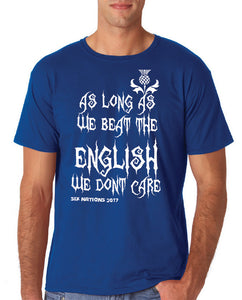 Mens 6 Nations T shirt - For Scotland supporters!