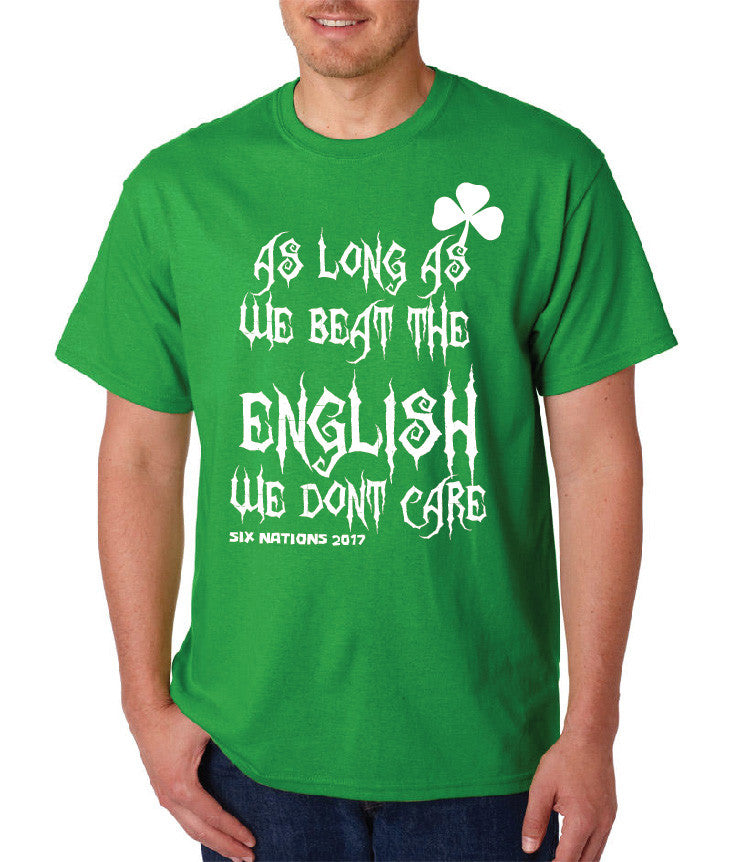 Mens 6 Nations T shirt - For Ireland supporters!