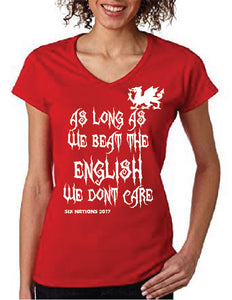 Women's 6 Nations T shirt - For Wales supporters!