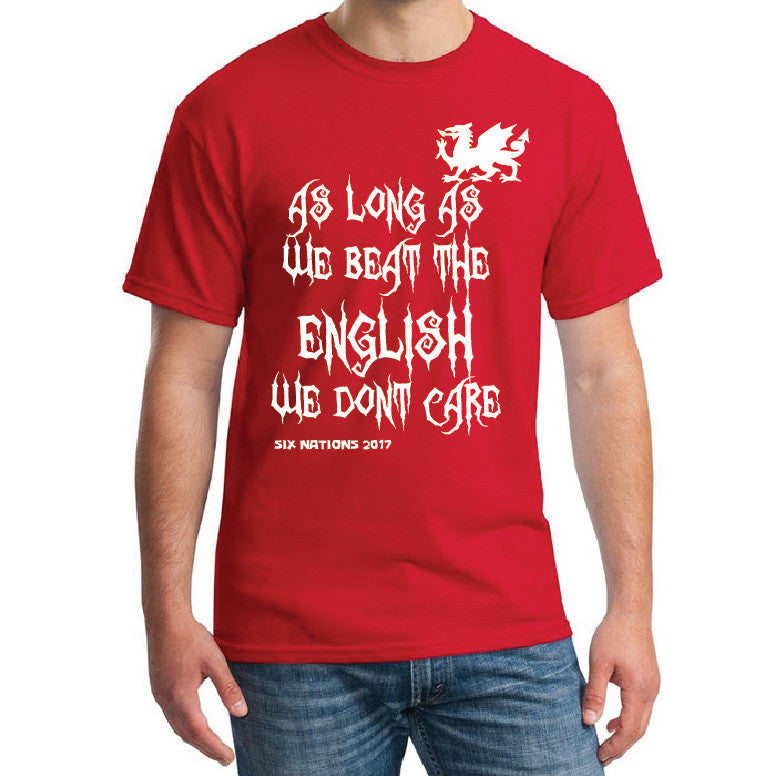 Mens 6 Nations T shirt - For Wales supporters!