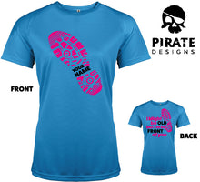 Personalised Old but in Front of you Ladies Running Tshirt
