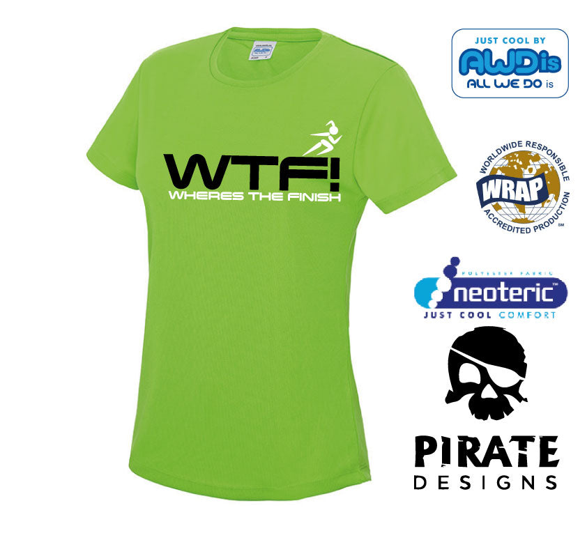 WTF! wheres the finish Running Tshirt
