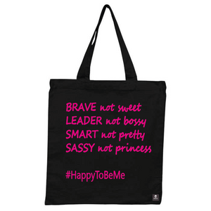 Brave - Leader - Smart - Sassy - Black Shopper