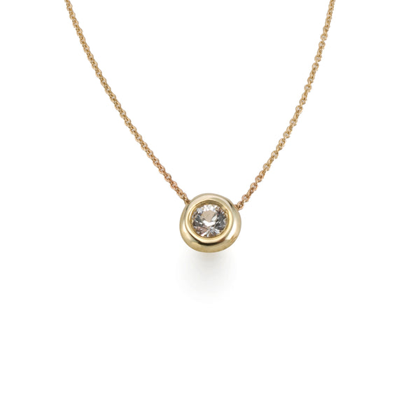 Golden halo Bubble Necklace