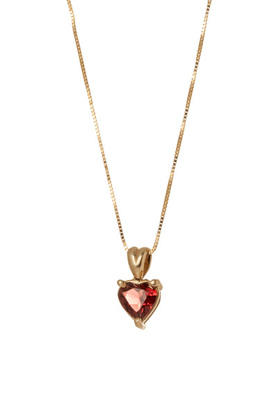 Juicy love heart pendant