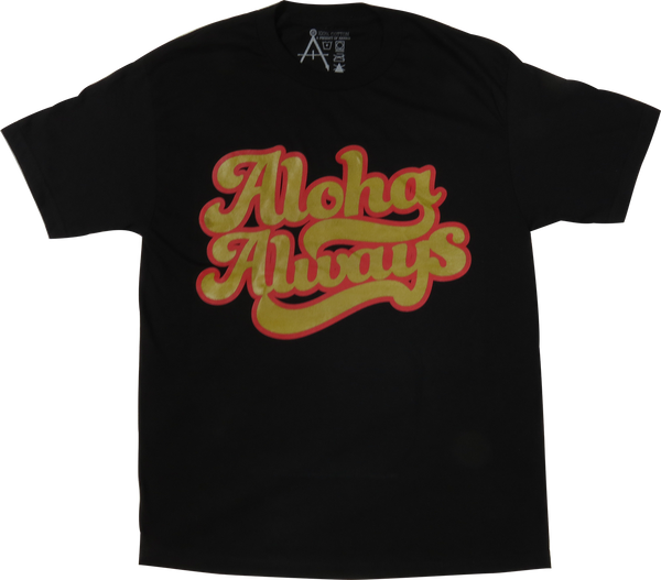 Aloha Forward - ALOHA ALWAYS (METALLIC GOLD / RED)