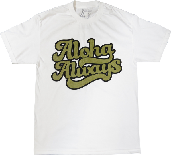 Aloha Forward - ALOHA ALWAYS (METALLIC GOLD / BLACK)