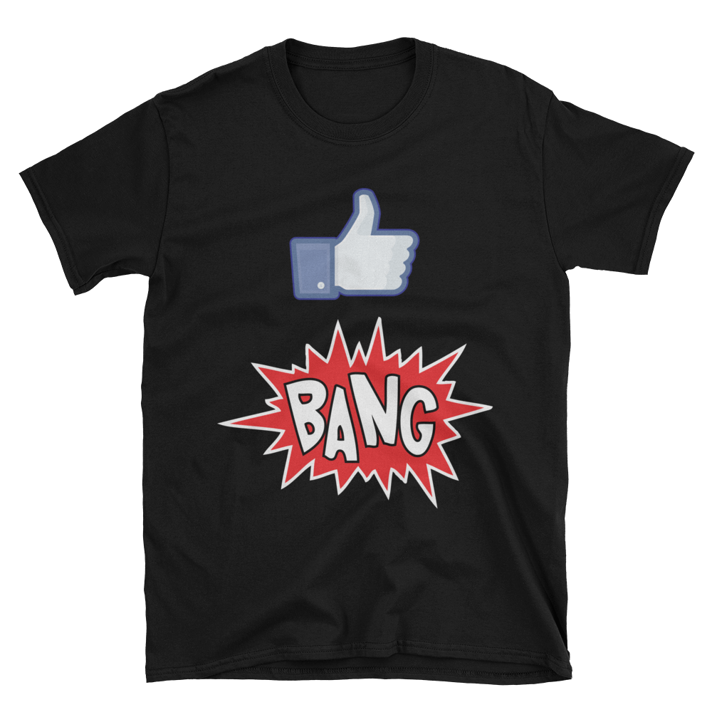 Maluhia / WeAreHI  - Like Bang! (Black T-Shirt)