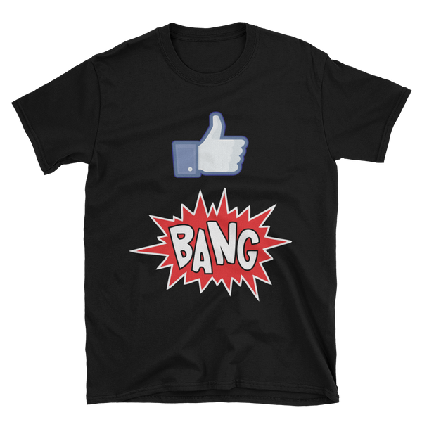 Closeout! Maluhia / WeAreHI  - Like Bang! (Black T-Shirt)