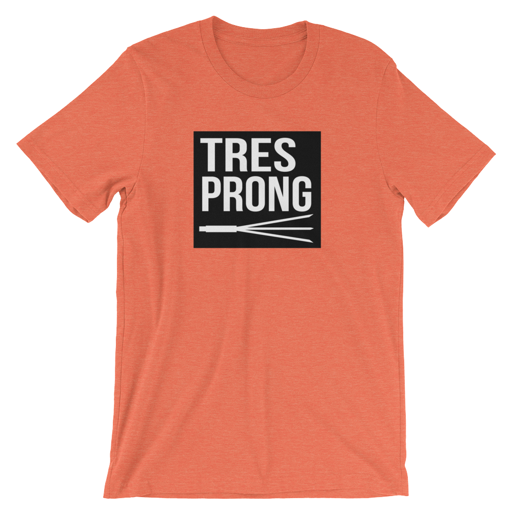 TRES PRONG - Box Logo Tee