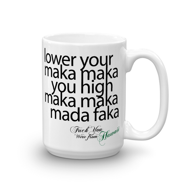 Hibred - Lower Your Maka Maka Mug