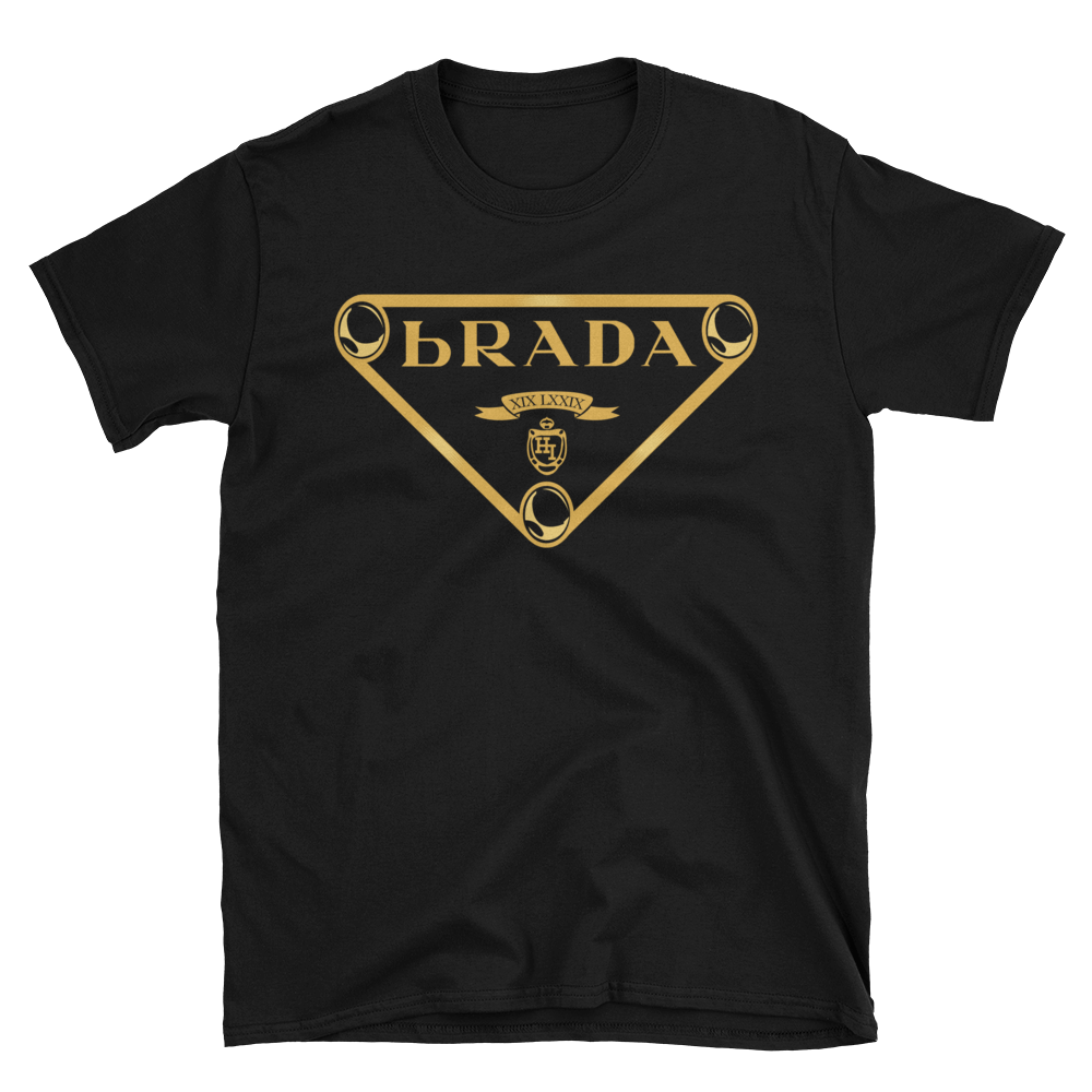 Hibred - bRADA (Gold on Black, White, or Navy)
