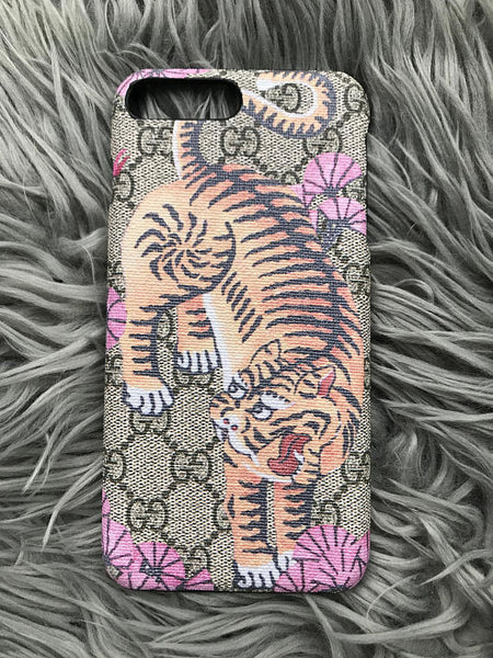 IPhone 6 Pink Eye of the Tiger Case