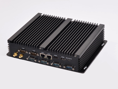 Mini Industrial PC Fanless Intel i7 4500u 1.8Gz 6x RS232