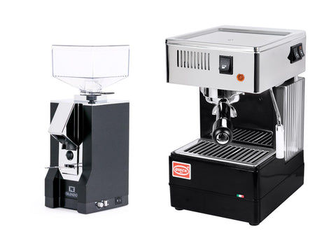QuickMill 820 and Silenzio grinder
