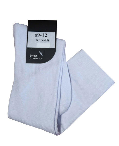 White knee-high socks (1 pair)