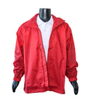 BOYS & GIRLS Red spray jacket