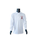 BOYS & GIRLS White polo top - long sleeve