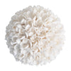 shell ball white decoration decorative coastal boho bohemian sculpture